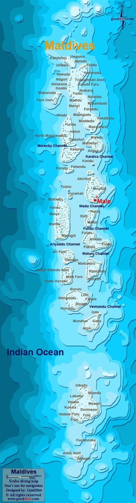 maldives map gooddivecom
