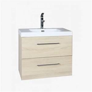 aquazur meuble salle de bain 2 tiroirs 60cm With salle de bain design avec meuble sdb 60 cm