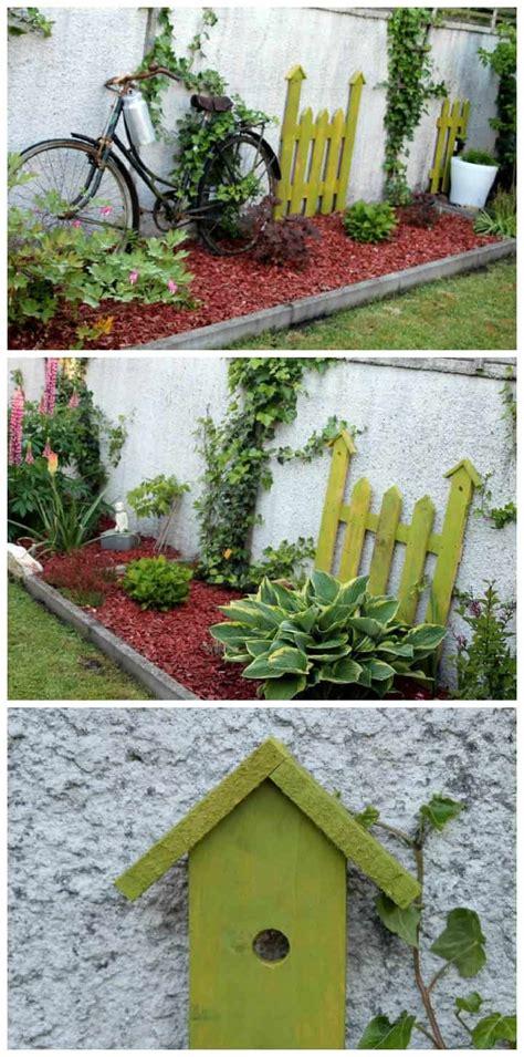 Garden Decoration by Palette Version D 233 Co Au Jardin Pallet As Garden
