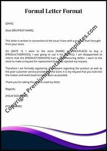 Formal, Letter, Format