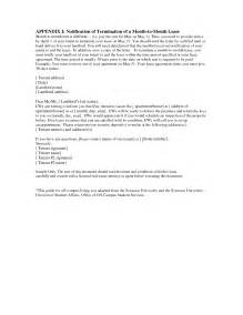 Landlord Lease Termination Letter Sample