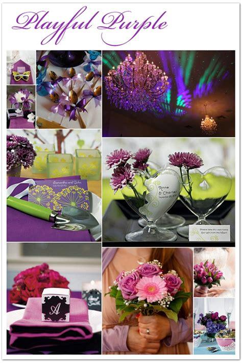 The perfect Playful Purple wedding color scheme Purple