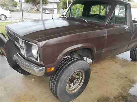 all car manuals free 1987 ford courier security system sell used 1981 ford courier 2 3 5spd 4x4 in reedsport oregon united states for us 1 400 00