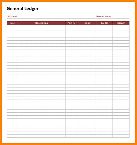 8 blank accounting ledger ledger review