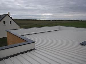 etancheite de la partie maison le blog de la With maison toit plat bois 4 isolation pare vapeur et gazon notre maison ossature bois
