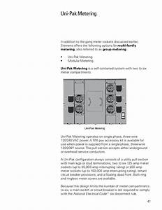 Basics Of Meter Mounting Equipment Siemens Cources