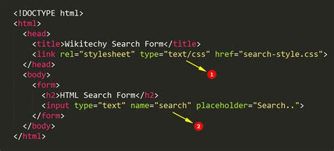 html5 search form wikitechy
