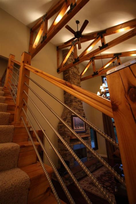 images  cabin stairs  pinterest rustic