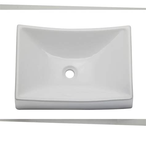 Decolav Sinks Home Depot by Decolav Classically Redefined Vessel Sink In White 1446