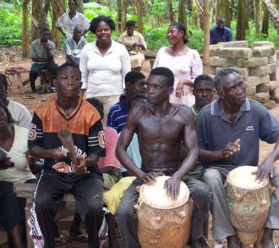 drumming  traditional ashanti healing ceremonies