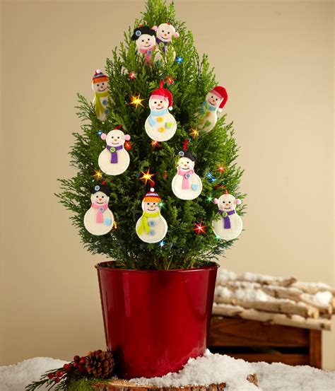 Decorate With Mini Christmas Trees