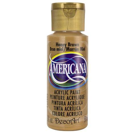 decoart americana 2 oz honey brown acrylic paint da163 3