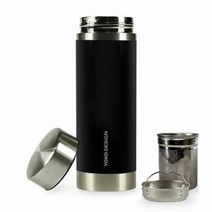 Mug Thé Infuseur : mug infuseur isotherme 350ml libertea noir ~ Teatrodelosmanantiales.com Idées de Décoration