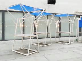 pvc design kahing design constructs temporary micro structures out of pvc pipes