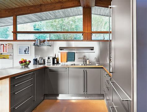 stainless steel kitchens cabinets best photos from 9 great kitchen cabinet ideas dwell 5734