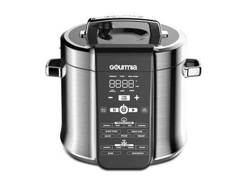 cooker pressure air fryer fryers gourmia countertop kitchen appliances line cookers lid cook ih innovative introduced manufacturer designer