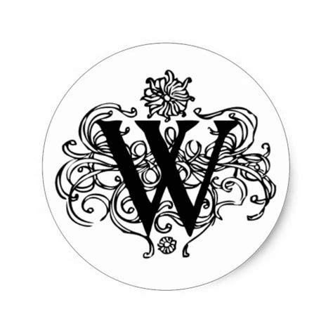 ornate knotwork monogram letter k stickers zazzle decorative w initial sticker zazzle 45418