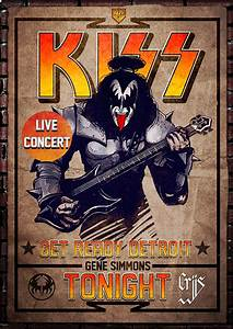 Gene Simmons poster - Kiss by CrisWF on DeviantArt