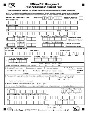 20 printable humana provider forms templates fillable sles in pdf word to pdffiller