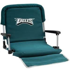stadium seats cushions nfl deluxe stadium seat philadelphia eagles
