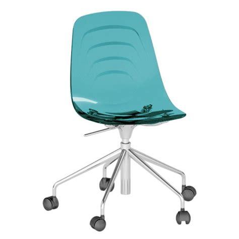 chaise bureau turquoise chaise de bureau turquoise