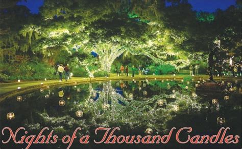 brookgreen gardens of a thousand candles nights of a thousand candles brookgreen gardens provides Lovely