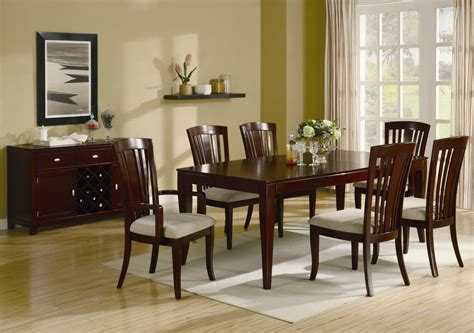 Cherry Wood Dining Room Table Marceladickcom