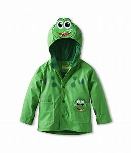 Western Chief Kids Frog Raincoat (Toddler/Little Kids ...