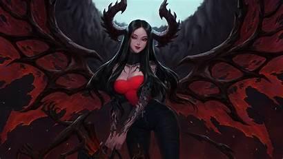 Demon Fantasy 4k Hell Tattoo Succubus Wallpapers