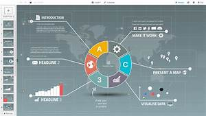 Circle Diagram Presentation Prezi Template