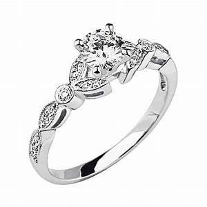 Cheap Diamond Engagement Rings For Women Wedding And
