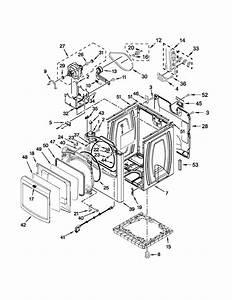 Maytag Model Medb980bw0 Residential Dryer Genuine Parts