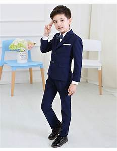 5pcs set baby kids boys blazers suit for wedding childern With toddler boy dress clothes for wedding