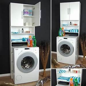 Waschmaschinenschrank Mit Türen : waschmaschinenschrank waschmaschinen schrank badm bel regal badregal neu ebay ~ Eleganceandgraceweddings.com Haus und Dekorationen