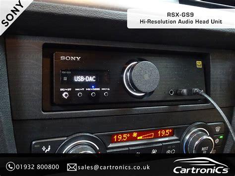 Custom Audio Minimalis bmw 3 series radio speaker upgrade to sony rsx gs9