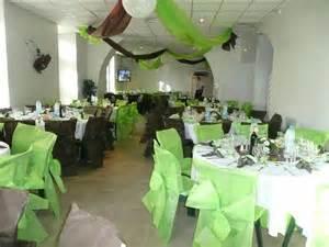 idee deco salle mariage idéé et photo décoration mariage decoration table mariage idee couleur vert photo décoration