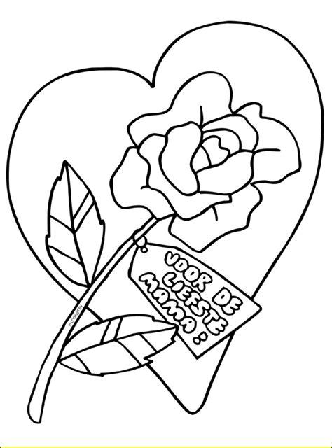 Kleurplaat Bedankt Bloemen by Kleurplaten Bedankt Bloemen Bloemen Kleurplaten
