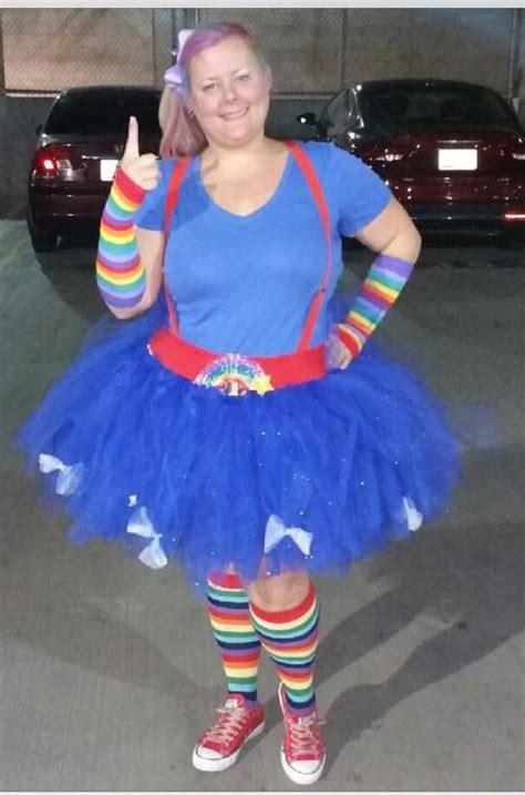 adult rainbow brite tutu costume      party