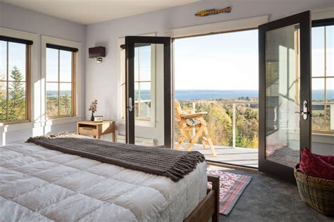 master bedroom balcony ideas master bedroom with a balcony transitional bedroom portland maine by priestley