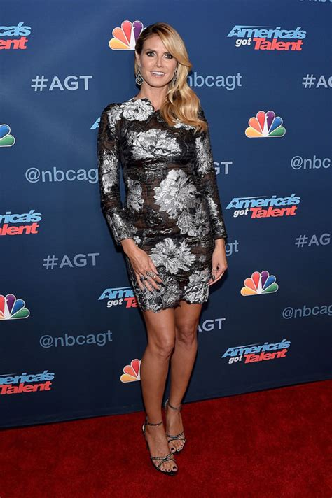 Heidi Klum The America Got Talent Season Live