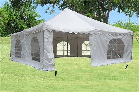 pvc pole tent white  sizes     ebay