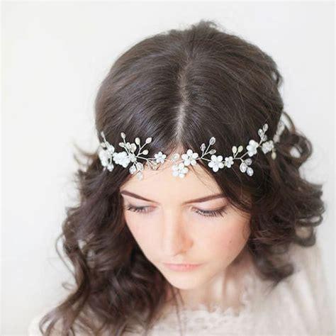 weddings hair style مدل های متنوع ریسه های تزیینی برای شینیون مو ستاره 7611