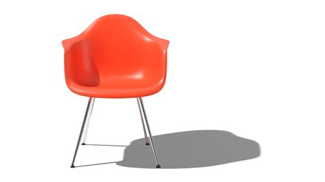the iconic eames moulded chair is being made with