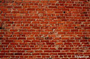 4-Designer Red brick wall background high definition picture