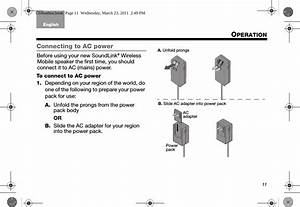 Bose 404600 Wireless Speaker User Manual Manual