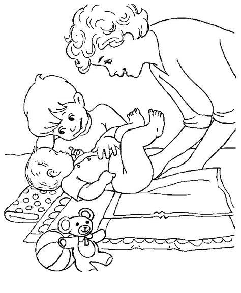 Kleurplaat Jarig Grote Broer by N 23 Coloring Pages Of Baby