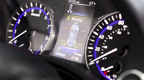 infiniti  tire pressure monitoring system youtube
