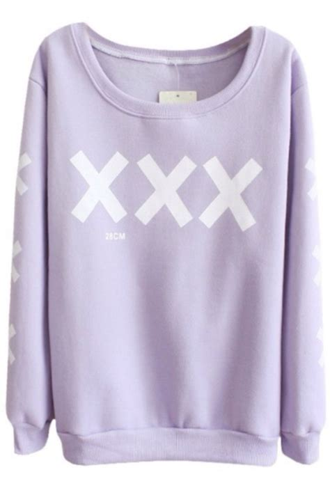 Shirt: sweater, pastel goth, crosses, lilac sweater