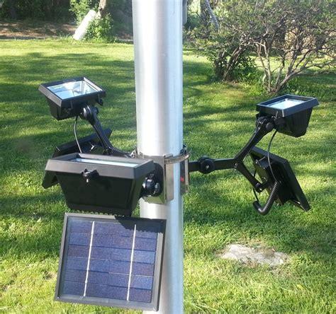 outdoor flag pole lights commercial solar flagpole light solar lights