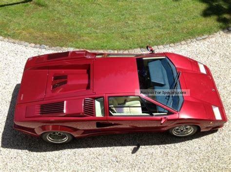 1989 Lamborghini Countach  Car Photo and Specs
